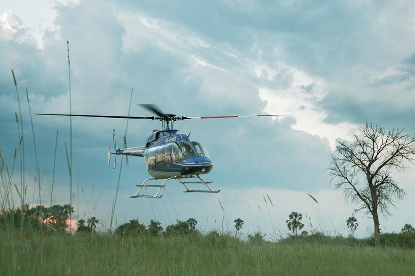 Helicopter safari's
