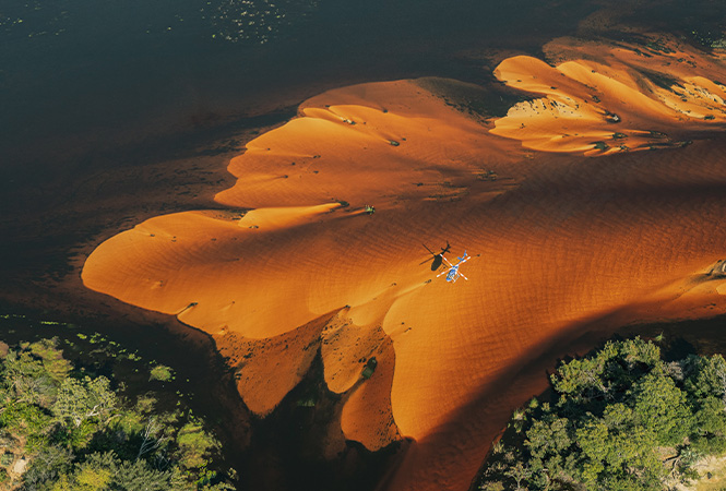 Sand dune river experience