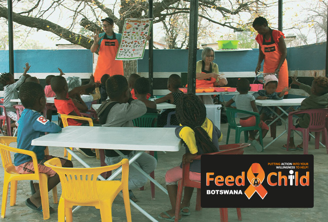 Giving back to the orphans and vulnerable children of Botswana