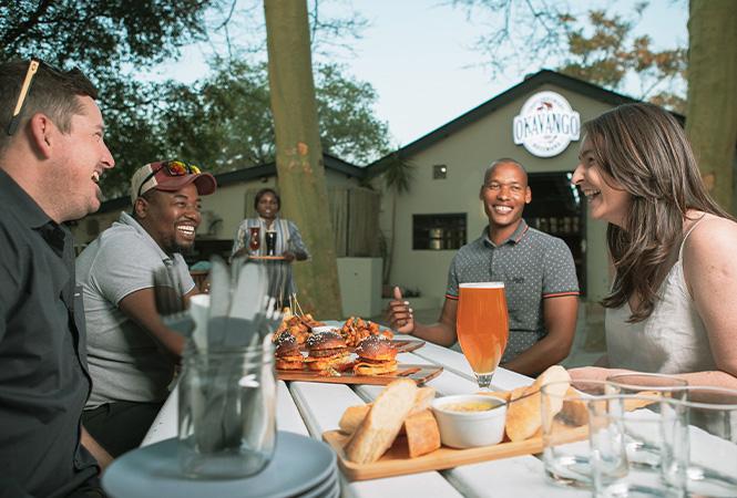 Compfort and luxury in the Okavango Delta