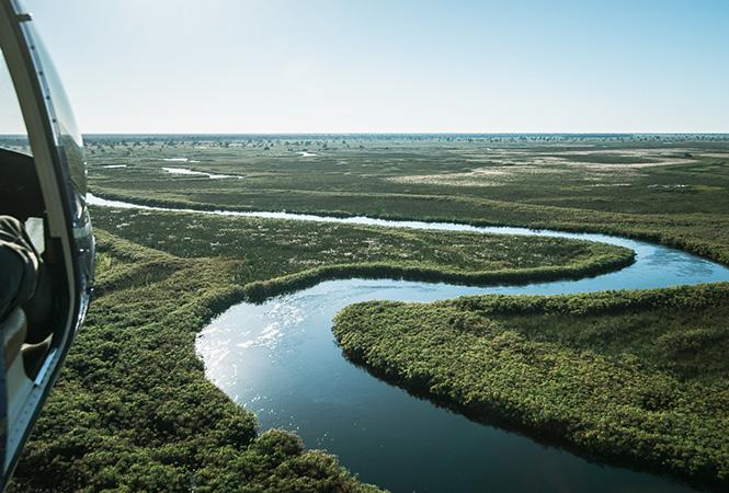 Waterways of the Okavango Delta
