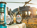 Bask in local craft beer on a safari with helicopter Horizons