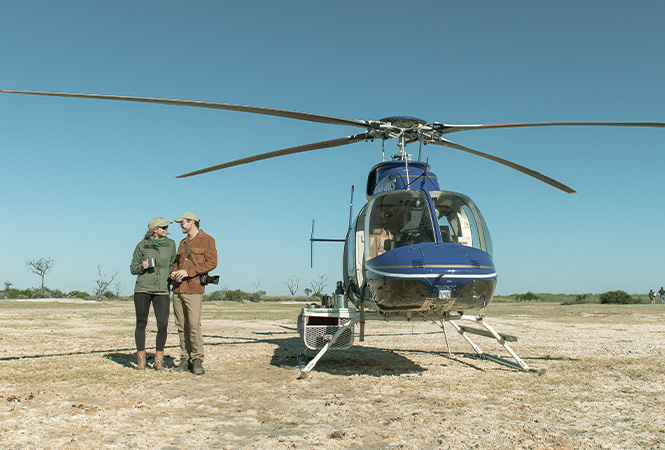 Gorgeous wilderness experiences on one of our helicopter safaris