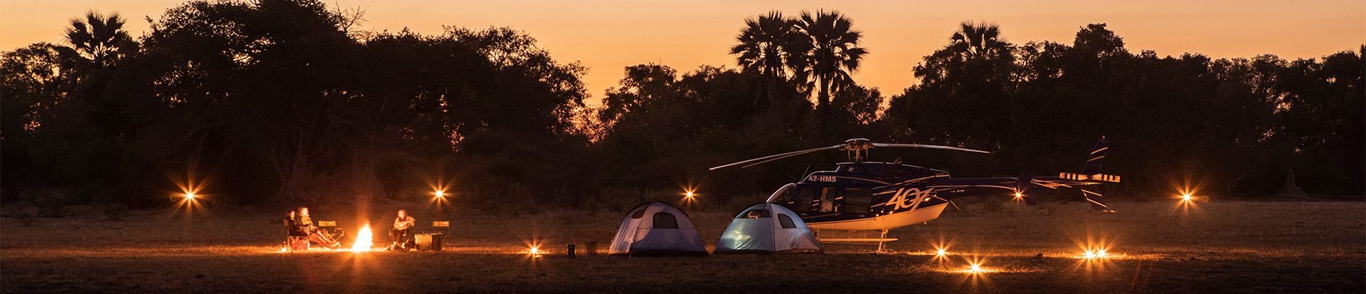Luxury helicopter safaris with Helicopter Horizons